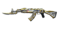 AK-47 Knife Transformers Imperial Gold