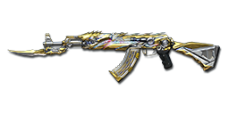 AK47-Knife Transformers Imperial Gold