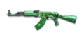 RIFLE AK-47-St Patricks Day