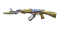AK-47 Knife Born Beast Imperial Gold