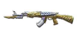 AK47-Knife Born Beast Imperial Gold