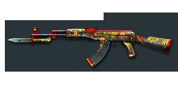 AK47-Knife Khokhloma