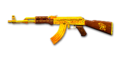 Rifle AK47-Gold