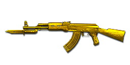 AK47-Knife Ultimate Gold