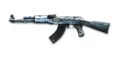 RIFLE AK-47-Blue Pottery