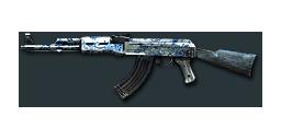 AK47-Blue Pottery