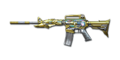M4A1-S Transformers Imperial Gold