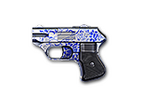 COP 357 Derringer-Blue Pottery