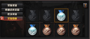 Ranked Matches-Medals