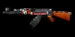 RIFLE AK-47-Halloween 1
