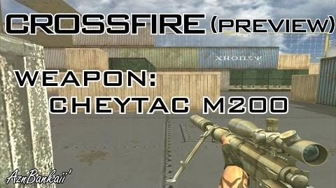 CrossFire CheyTac M200 Preview (No-Recoil Bug Exploit)