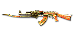 AK47-Beast Noble Gold Fire