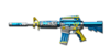 M4A1-S Blue Silver Dragon