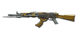AK47-Knife Steel Empire Noble Gold
