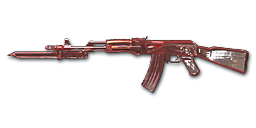 AK47-Knife Red Crystal