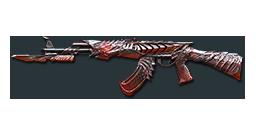 AK47-Knife Born Beast Punk