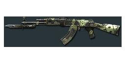 AK47-Knife Octagon Camo
