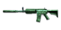 Rifle M4A1-XS Jade