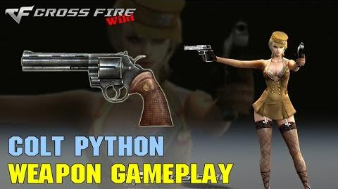 CrossFire - Colt Python - Weapon Gameplay