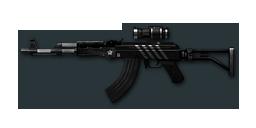 AK47-Scope Black Stripes