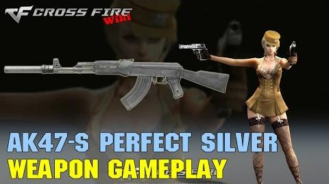 CrossFire - AK47-S Perfect Silver - Weapon Gameplay
