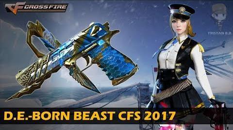 CrossFire China Desert Eagle-Born Beast CFS 2017 VVIP Weapon