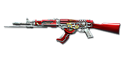 AK47-Knife Steel Empire Noble Red