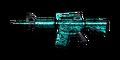 BI M4A1-Turquoise Camo