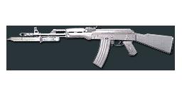 AK47-Knife Ultimate Silver