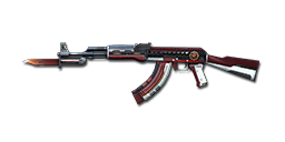 AK47-Knife Dual Mag Rank Match Red