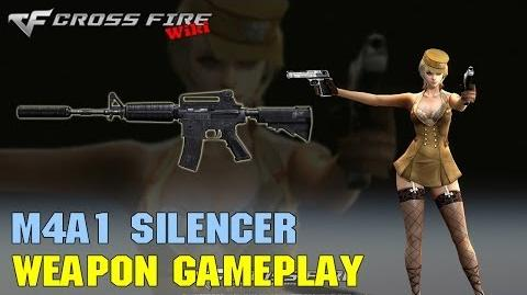 CrossFire - M4A1 Silencer - Weapon Gameplay