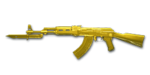 AK47 Knife YellowCrystal NoMark