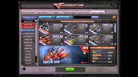 CrossFire Europe - Weapon Collection Guide