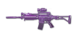 M4A1 Custom Violet Crystal