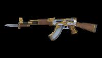 AK47 KNIFE ROYALGUARD 2ND RENDER