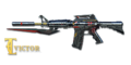 M4A1 S RED KNIFE BEAST