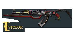 AK47-Red Knife Beast
