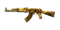 AK47 GOLD BLACK DRAGON