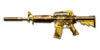 M4A1 S GOLD BLACK DRAGON