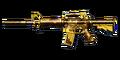 M4A1 S GOLD BLACK DRAGON