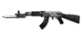 RIFLE AK-47-Knife BS