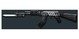 AK47-Knife Black Stripes