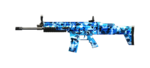 SCAR LIGHT-BLUE CAMO
