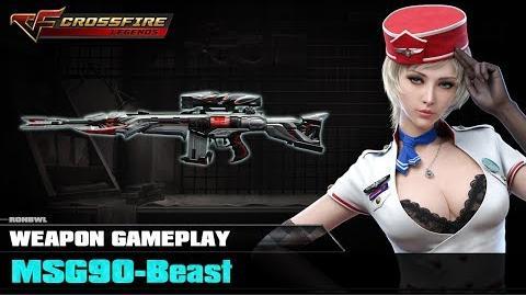 Crossfire Legends - MSG90-Beast ☆