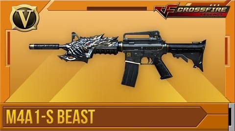Crossfire Legends Tổng quan M4A1-S Beast (VIP)