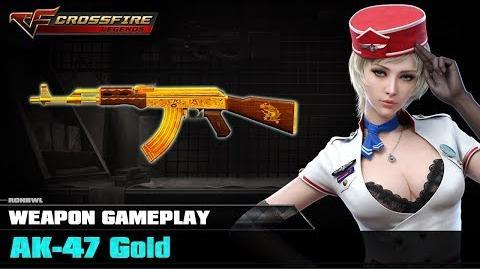 Crossfire Legends - AK-47 Gold