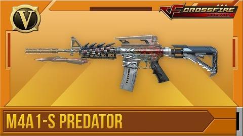 Crossfire Legends Tổng quan M4A1-S Predator (VIP)