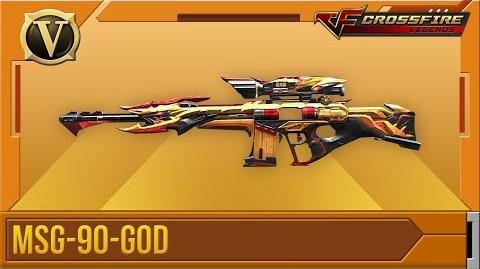 Crossfire Legends Tổng quan MSG-90-God (VIP)