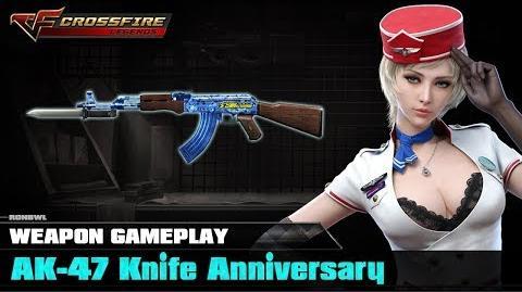 CF Mobile - AK-47 Knife Anniversary