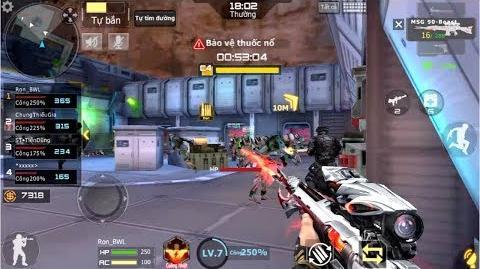 Crossfire Legends - Phó bản Zombie (Thường) - Test MSG90-Beast